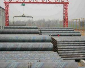 Q345B厚壁螺旋焊接钢管