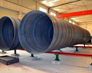 保定螺旋钢管厂-专业生产双面埋弧焊螺旋钢管
