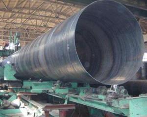 大口径螺旋钢管价格低位有所回升