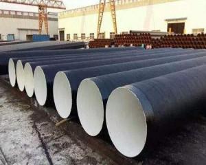 输油管道3pe防腐螺旋钢管