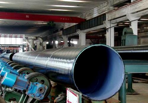 大口径TPEP防腐螺旋钢管 大口径螺旋钢管 第2张