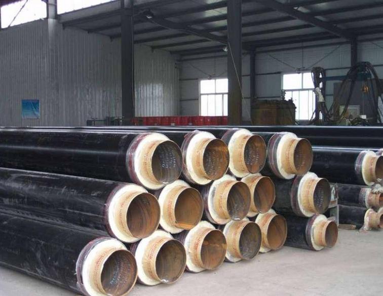 聚氨酯直埋保温管 保温螺旋钢管