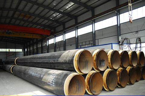 聚氨酯发泡保温钢管 保温螺旋钢管