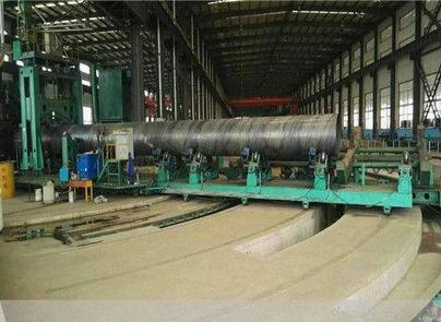 q235b大口径螺旋钢管 大口径螺旋钢管