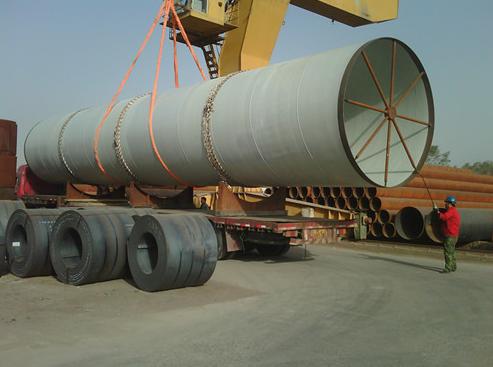 影响大口径螺旋管价格变化的关键因素 大口径螺旋钢管价格