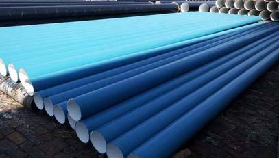 环氧粉末防腐螺旋钢管表面处理过程 螺旋钢管新闻资讯