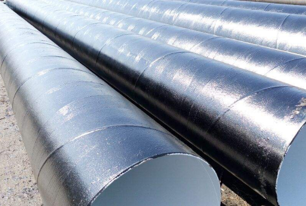防腐疏浚螺旋钢管 防腐螺旋钢管