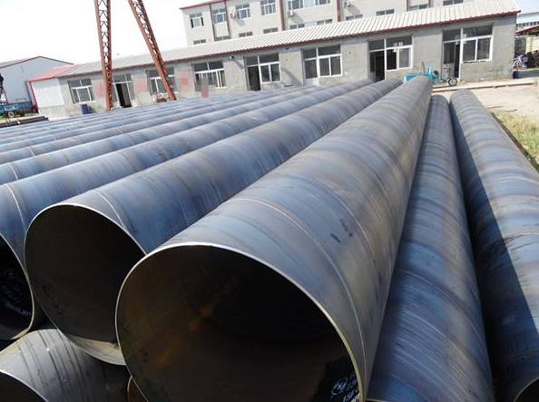 天津螺旋钢管厂-先进的生产设备,完备的检测手段 螺旋钢管厂