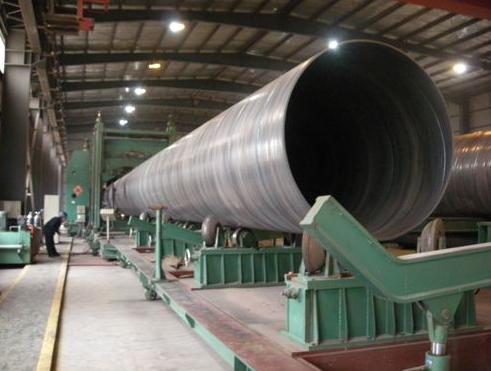 汉中螺旋钢管厂-品质钢材,质量保障 陕西螺旋钢管厂家