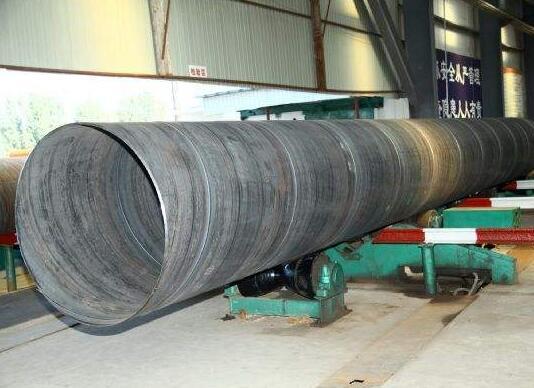 金昌螺旋钢管厂-专业生产螺旋钢管 甘肃螺旋钢管厂家