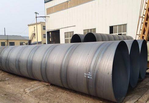 庆阳螺旋钢管厂-专业生产双面埋弧焊螺旋钢管 甘肃螺旋钢管厂家