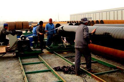 螺旋钢管两布三油工艺 螺旋钢管新闻资讯