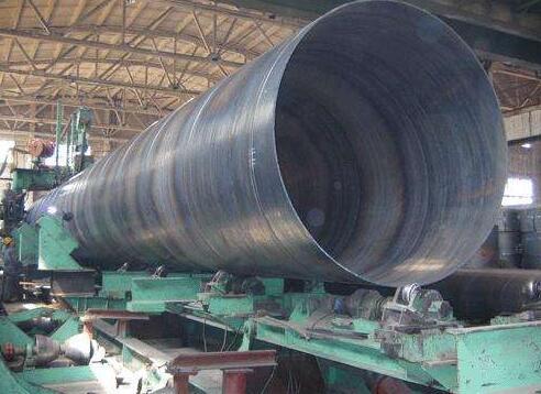 大口径螺旋钢管价格低位有所回升 大口径螺旋钢管价格
