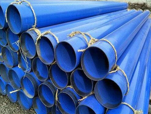 矿用涂塑螺旋钢管 防腐螺旋钢管