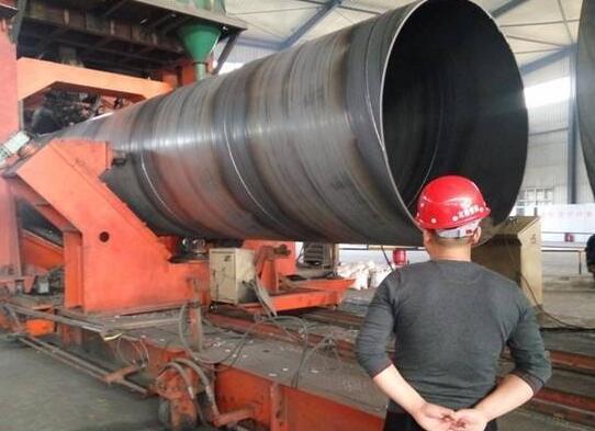 出口打桩用螺旋钢管 国标螺旋钢管
