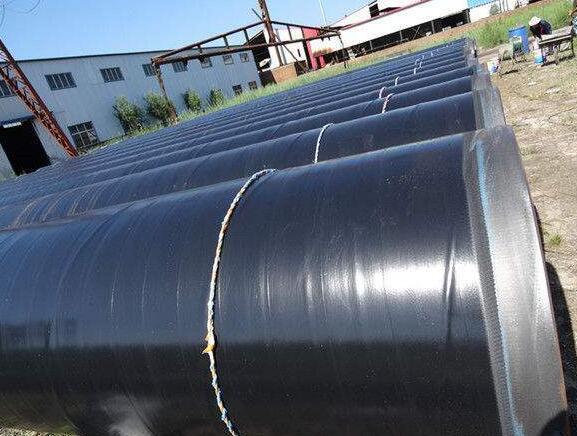 环氧树脂防腐螺旋钢管 防腐螺旋钢管