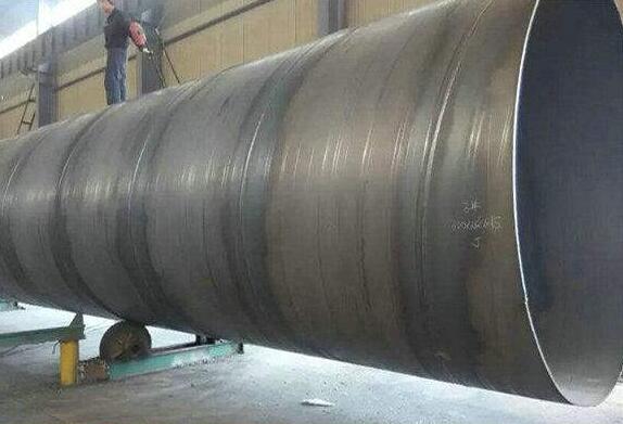大口径螺旋钢管焊剂的堆积厚度 螺旋钢管新闻资讯