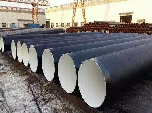 输油管道3pe防腐螺旋钢管 防腐螺旋钢管