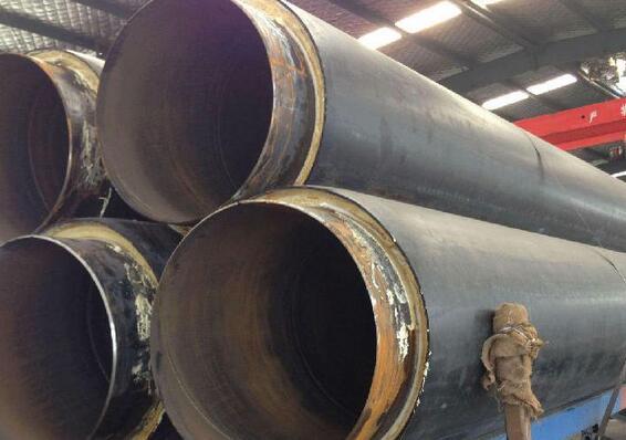 预制直埋保温钢管 保温螺旋钢管