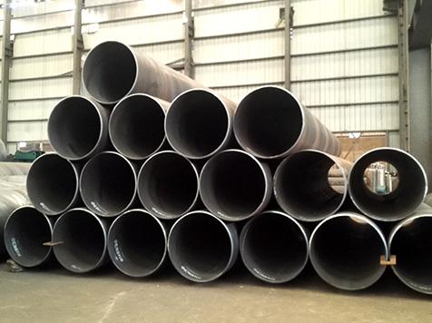 北流螺旋钢管附近生产厂